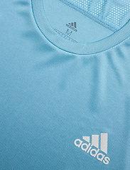 adidas Performance - Own The Run T-Shirt - sportoberteile - hazblu - 5