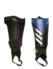 Predator Match Shin Guards - BLACK/WHITE/SYELLO