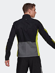 adidas Performance - Track Jacket - sportsjakker - black/grefiv/aciyel - 5