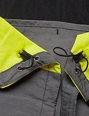 adidas Performance - Track Jacket - sportsjakker - black/grefiv/aciyel - 9