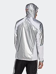 adidas Performance - Marathon Space Race Jacket - sportsjakker - msilve/white - 3