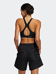 adidas Performance - High-Support Bra W - sort bras:high - black/black - 3