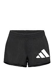 3 Bar Logo Woven Shorts W - BLACK/WHITE
