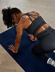 adidas Performance - Training Aeroknit Bra W - sort bras:high - dgsogr - 4