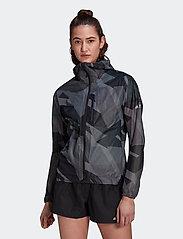 adidas Performance - Terrex Agravic Graphic 2.5 Layer Rain Jacket W - treenitakit - gresix - 0