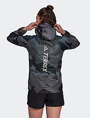 adidas Performance - Terrex Agravic Graphic 2.5 Layer Rain Jacket W - treenitakit - gresix - 3