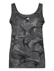 Designed To Move AEROREADY Camouflage-Print Tank Top W - GRESIX/WHITE