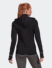 adidas Performance - Designed To Move AEROREADY Full-Zip Hoodie W - hupparit - black/white - 3