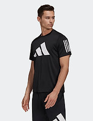 adidas Performance - FreeLift T-Shirt - football shirts - black - 0