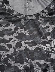 adidas Performance - Fast Primeblue Graphic T-Shirt - sportoberteile - grefou - 4