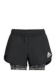 Fast Two-in-One Primeblue Graphic Shorts W - BLACK/GREFOU