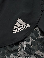 adidas Performance - Fast Two-in-One Primeblue Graphic Shorts W - träningsshorts - black/grefou - 7