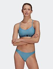 adidas Performance - Beach Bikini W - bikini-sett - hazblu - 0