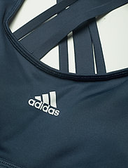 adidas Performance - Believe This Lace-Up Bra W - urheiluliivit: medium tuki - crenav/white - 5