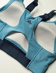 adidas Performance - Ultimate Alpha Adi Life Bra W - sort bras:high - hazblu/crenav/crenav - 5
