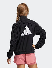 adidas Performance - Woven Badge of Sport Jacket W - koulutustakit - black/white - 3