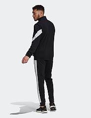 adidas Performance - Sportswear Cotton Track Suit - dresy - black/white - 6
