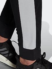 adidas Performance - Sportswear Cotton Track Suit - dresy - black/white - 8