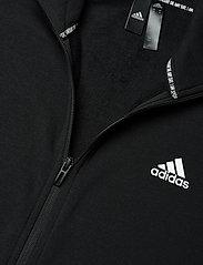 adidas Performance - Sportswear Cotton Track Suit - dresy - black/white - 9