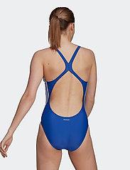 adidas Performance - SH3.RO Classic 3-Stripes Swimsuit W - stroje kąpielowe - royblu/white - 4