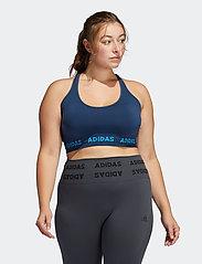 adidas Performance - Training Aeroknit Bra W (Plus Size) - sport bras: low - crenav - 0