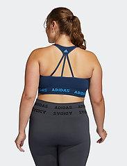 adidas Performance - Training Aeroknit Bra W (Plus Size) - sport bras: low - crenav - 3