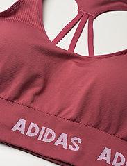 adidas Performance - Training Aeroknit Bra W (Plus Size) - sportbeh''s: low - wilpnk - 6