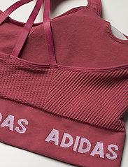 adidas Performance - Training Aeroknit Bra W (Plus Size) - sportbeh''s: low - wilpnk - 7