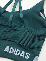 adidas Performance - Training Aeroknit Bra W - sport bras: low - wiltea - 5