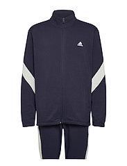Sportswear Cotton Track Suit - LEGINK/CWHITE