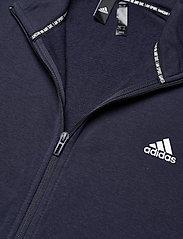 adidas Performance - Sportswear Cotton Track Suit - dresy - legink/cwhite - 6
