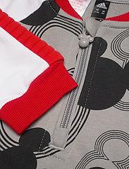 adidas Performance - Disney Mickey Mouse Onesie - langärmelig - mgsogr/black/white/vi - 4