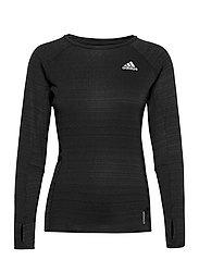 Runner Long Sleeve T-Shirt W - BLACK/REFSIL