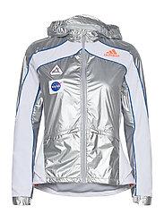 Marathon Space Race Jacket W - MSILVE/WHITE