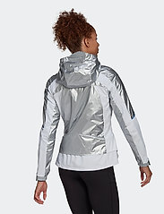 adidas Performance - Marathon Space Race Jacket W - träningsjackor - msilve/white - 3