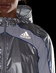 adidas Performance - Marathon Space Race Jacket W - träningsjackor - msilve/white - 4