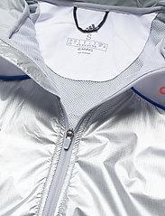 adidas Performance - Marathon Space Race Jacket W - träningsjackor - msilve/white - 5