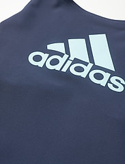 adidas Performance - Badge of Sport Swimsuit - swimsuits - crenav/hazsky - 2