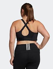 adidas Performance - Ultimate Bra W (Plus Size) - sort bras:high - black - 3