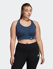 adidas Performance - Ultimate Bra W (Plus Size) - sort bras:high - crenav - 0