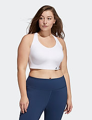adidas Performance - Ultimate Bra W (Plus Size) - sort bras:high - white - 0