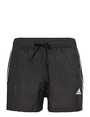 Classic 3-Stripes Swim Shorts - BLACK
