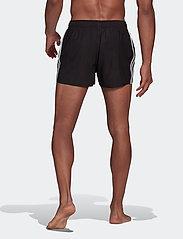 adidas Performance - Classic 3-Stripes Swim Shorts - shorts - black - 5
