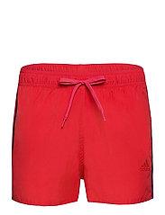 Classic 3-Stripes Swim Shorts - GLORED/CRENAV