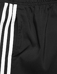 adidas Performance - Classic-Length 3-Stripes Swim Shorts - shorts - black/white - 4