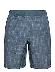 Check Swim Shorts - LEGBLU