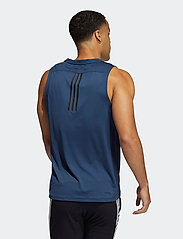 adidas Performance - AEROREADY 3-Stripes Primeblue Tank Top - tank tops - crenav - 3