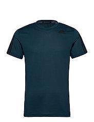 Primeblue AEROREADY 3-Stripes Slim T-Shirt - CRENAV