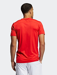 adidas Performance - Primeblue AEROREADY 3-Stripes Slim T-Shirt - sportoberteile - vivred - 3