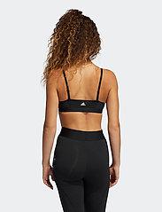 adidas Performance - Nini Sum Graphic AM Bra W - sport bras: low support - black - 3